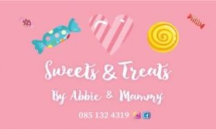 Rectangle Custom Sticker - Sweets & Treats by A & M